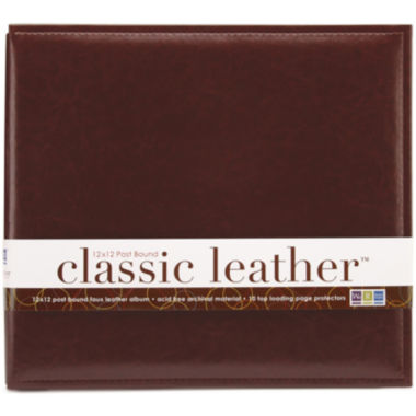 jcpenney.com | We R Memory Keepers® Post Bound Leather Album