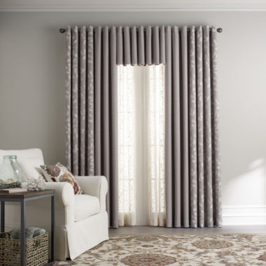 jcpenney.com | JCPenney Home™ Quinn Grommet-Top Window Treatments