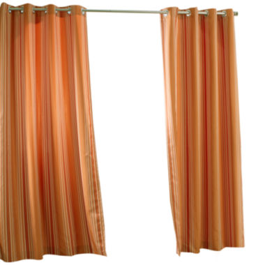 jcpenney.com | Gazebo Stripe Grommet-Top Outdoor Curtain Panel
