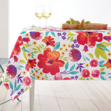 jcpenney.com | JCPenney Home™ Bella Indoor/Outdoor Table Linen Collection