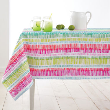 jcpenney.com | JCPenney Home™ Zig Zag Indoor/Outdoor Table Linen Collection