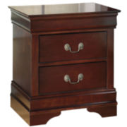 Signature Design by Ashley® Alisdair Two-Drawer Nightstand