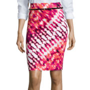 Worthington® Belted High-Waist Skirt - Tall