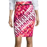 Worthington® Belted High-Waist Skirt - Tall