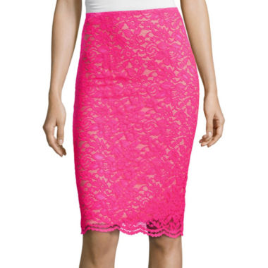 jcpenney.com | Worthington® Lace Pencil Skirt - Tall