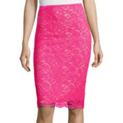 Worthington® Lace Pencil Skirt - Tall