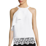 Worthington® Lace Halter Top