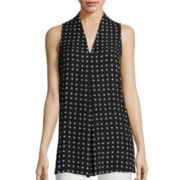 Worthington® Sleeveless Tunic - Tall