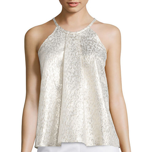 Worthington® Sleeveless Halter Blouse