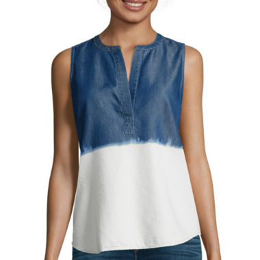 jcpenney.com | a.n.a® V-Neck Tank Top