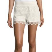 a.n.a® Lace Crochet Shorts - Tall