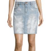 a.n.a® Five-Pocket Denim Skirt - Petite