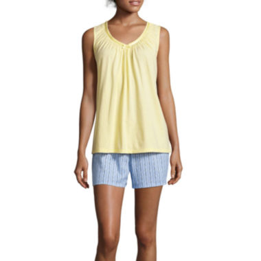 jcpenney.com | Earth Angels® Sleeveless Top and Boxer Shorts Pajama Set