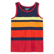 Arizona Stripe Tank Top - Preschool Boys 4-7