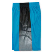 Spalding® Pull-On Athletic Linear Shorts - Boys 8-16