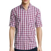 St. John's Bay® Short-Sleeve Americana Woven Shirt