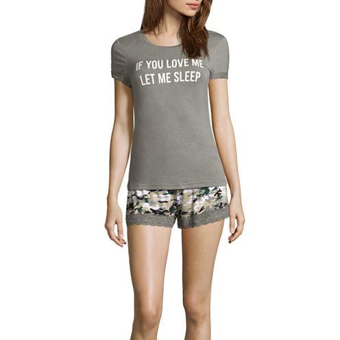 Shorts Pajama Set-Plus