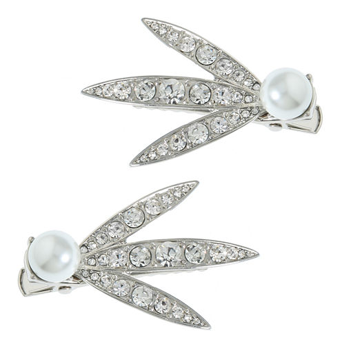 Monet Jewelry The Bridal Collection 2-pc. Hair Clip