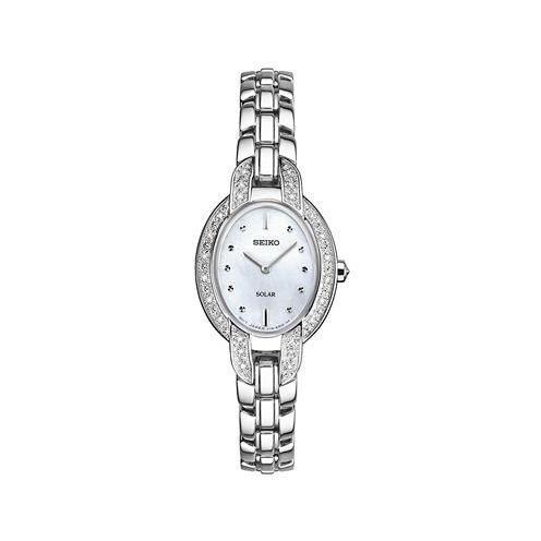 Seiko Ladies Silver Tone Bracelet Watch-Sup323