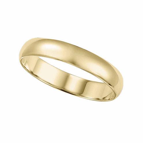mens 10k gold 4mm ring - Jcpenney Mens Wedding Rings