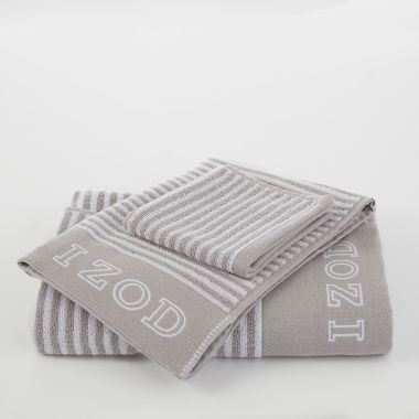 jcpenney.com | IZOD Pinstripe Bath Towel Collection