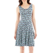 a.n.a® Sleeveless Fit-and-Flare Dress