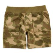 Okie Dokie® Cargo Pocket Shorts – Boys newborn-24m