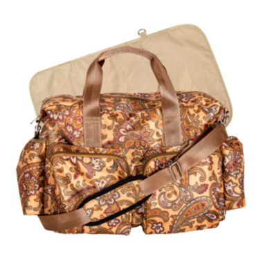 jcpenney.com | Trend Lab® Paisley Deluxe Duffle Diaper Bag