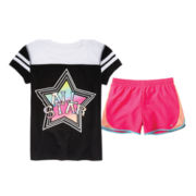Xersion™ Sporty Tee or Running Shorts – Girls 7-16 and Plus