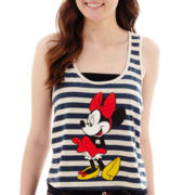 Graphic High-Low Muscle Tank Top