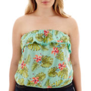 Arizona Print Crochet Tube Top - Plus