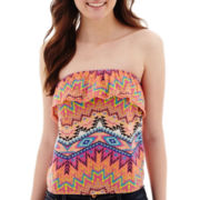 Arizona Print Crochet Tube Top