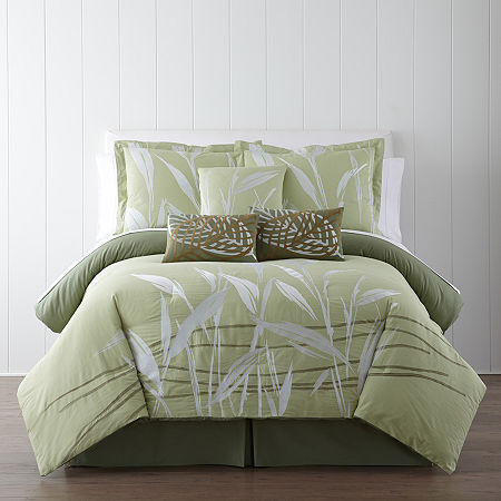 Panama Jack Pampas Tropical 7-pc. Comforter Set
