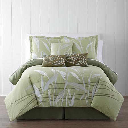 Panama Jack Pampas Tropical 7-pc. Comforter Set