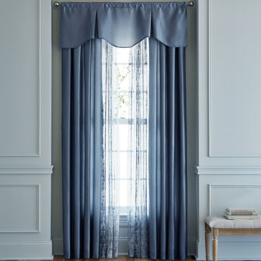 jcpenney.com | Royal Velvet® Encore Rod-Pocket Window Treatments