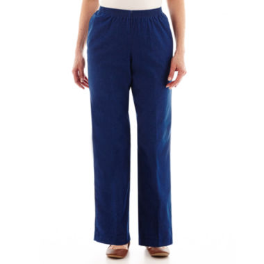 jcpenney.com | Alfred Dunner® Denim Pull-On Pants