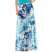 Worthington® Shirred Maxi Skirt - Petite