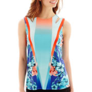 Worthington® Cutout-Shoulder Tank Top