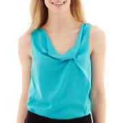 Worthington® Cowlneck Blouse