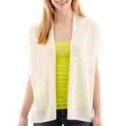 a.n.a® Short-Sleeve Lightweight Open Cardigan