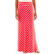 Liz Claiborne® Ankle-Length Knit Maxi Skirt - Tall