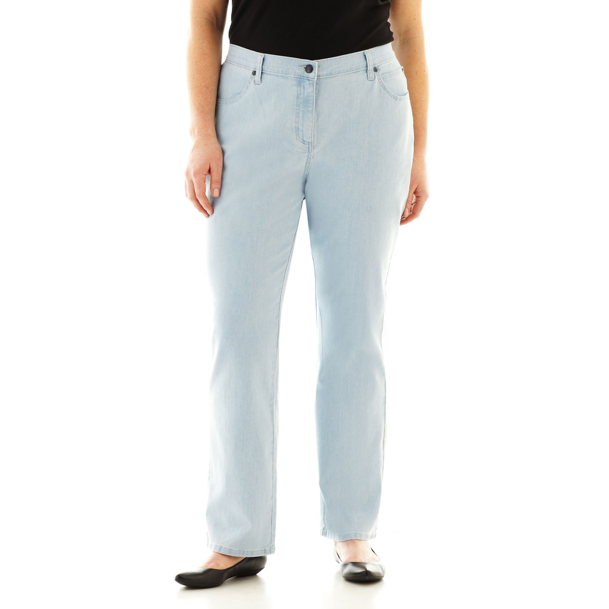 Lee Relaxed-Fit Straight-Leg Jeans - Plus