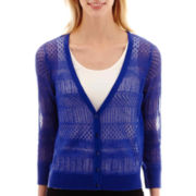 Worthington® 3/4-Sleeve Cardigan