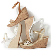 Unisa® Kelt Cutout Wedge Sandals