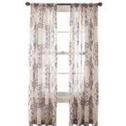 Royal Velvet® Ardesia Rod-Pocket Sheer Panel