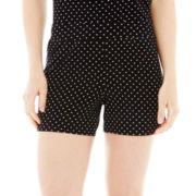 Ambrielle® Knit Boxer Sleep Shorts