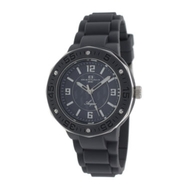 jcpenney.com | Oceanaut Acqua Womens Gray Rubber Strap Watch