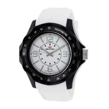 jcpenney.com | Seapro Dynamite Mens White Silicone Strap Watch