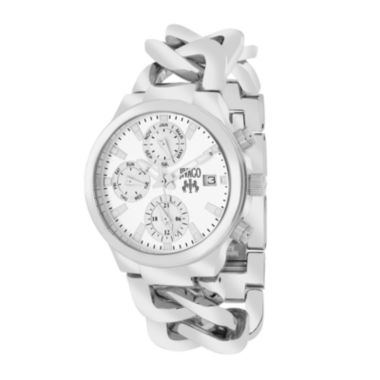 jcpenney.com | Jivago Womens Levley Stainless Steel Bracelet Watch