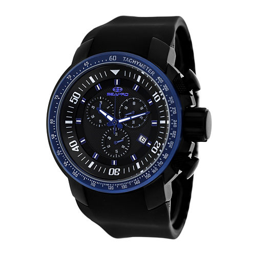 Seapro Mens Blue Imperial Strap Watch
